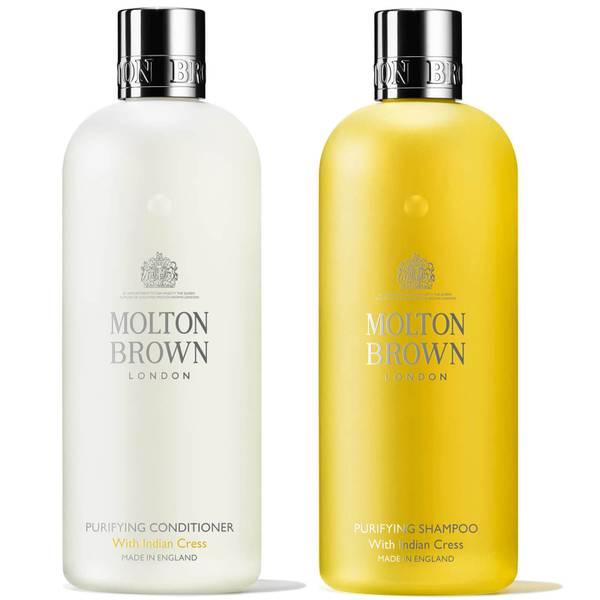 Molton Brown 金莲花护发两件套