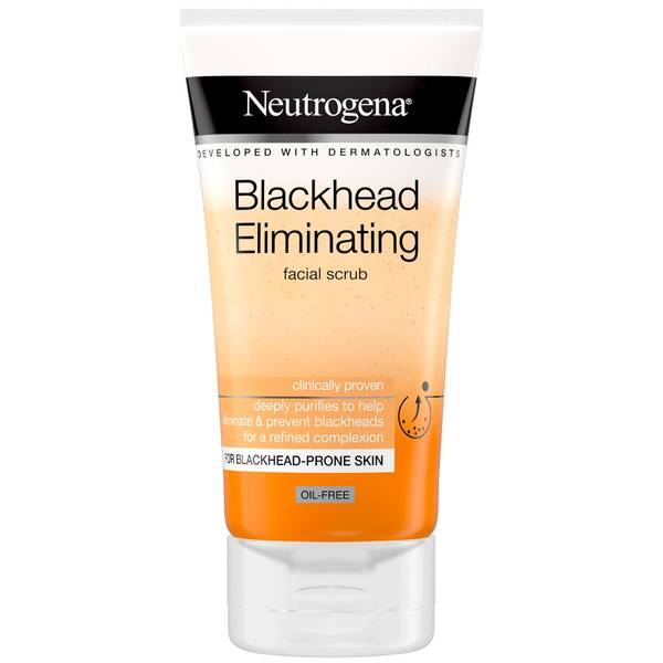 Neutrogena Blackhead Eliminating Facial Scrub 150ml