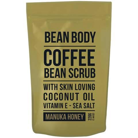 大豆咖啡豆身体磨砂膏 220g——麦卢卡蜂蜜