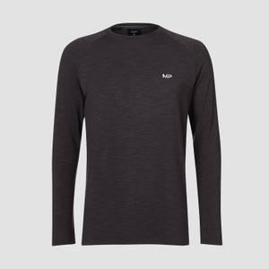 MP Men's Performance Long-Sleeve T-Shirt - Black Marl