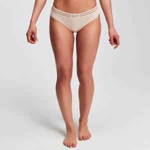Seamless 无缝系列 女士内裤 - 米