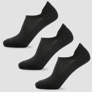 女士踝袜 - 黑色