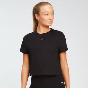 MP女士必备系列短款T恤 - 黑