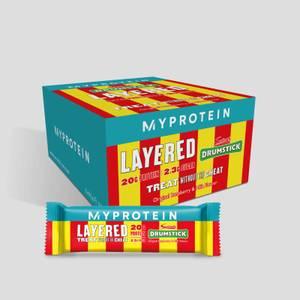 Layered Protein Bar — Drumstick