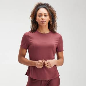 MP女士Velocity系列短袖上衣 - 深紫红
