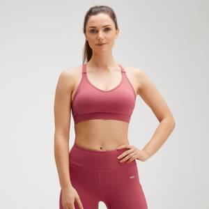 MP Women's Power Mesh Sports Bra - Berry Pink
