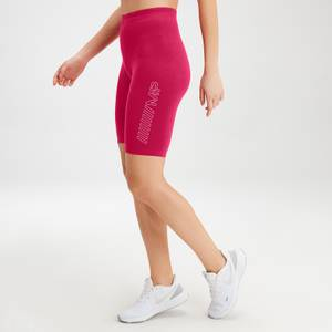 MP Women's Outline Graphic Cycling Shorts - Virtual Pink