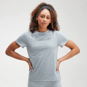 MP Women's Outline Graphic T-Shirt - Grey Marl