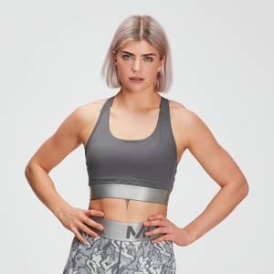 MP女士Adapt系列多纹理运动内衣 - 碳灰