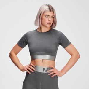 MP女士Adapt系列多纹理短款上衣 - 碳灰