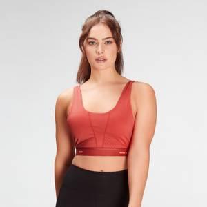 MP Women's Power Ultra Sports Bra- Warm Red