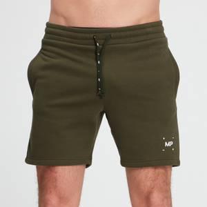 MP Men's Central Graphic Shorts - Dark Olive
