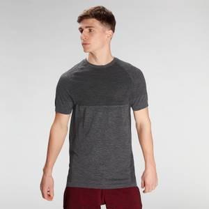 MP Men's Essential Seamless Short Sleeve T-Shirt- Storm Grey Marl