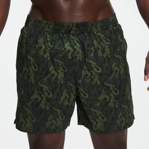MP男士Adapt系列迷彩印花短裤 - 绿色迷彩