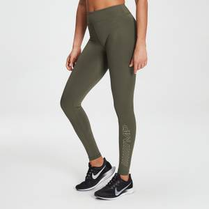 MP女士Branded Training系列紧身裤 - 深橄榄