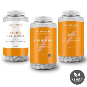 Myvitamins纯素食基础保健产品套餐