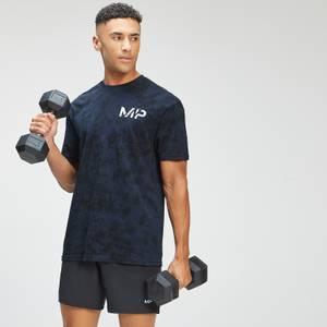 MP Men's Adapt Tie Dye Short Sleeve Oversized T-Shirt - Petrol Blue/Black