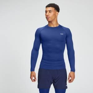 MP男士必备系列训练长袖紧身衣 - 浓郁蓝