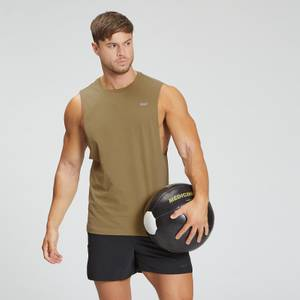 MP Men's Essentials Drop Armhole Tank - Dark Tan