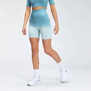 MP Women's Velocity Seamless Cycling Shorts - Ocean Blue