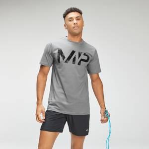 MP Men's Adapt Grit Graphic T-Shirt - Storm Grey Marl