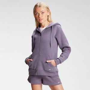 MP Women's Essentials Zip Through Hoodie - Mokey Purple