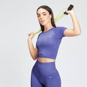 MP Women's Shape Seamless Ultra Crop Top - Bluebell