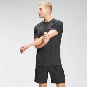MP Men's Repeat Graphic Training Short Sleeve T-Shirt - Black