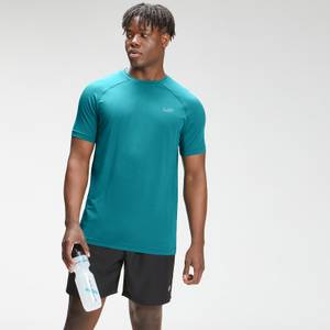 MP Men's Repeat Mark Graphic Training Short Sleeve T-Shirt   Teal   MP