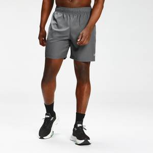 MP Men's Repeat Mark Graphic Training Shorts   Carbon   MP
