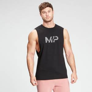 MP Men's Gradient Line Graphic Tank Top - Black