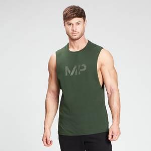 MP Men's Gradient Line Graphic Tank Top - Dark Green
