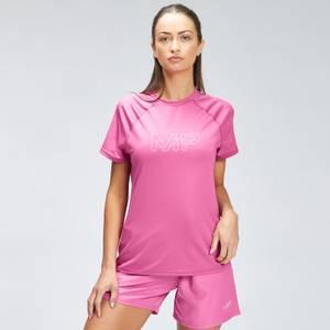MP Women's Repeat Mark Graphic Training T-Shirt - Pink