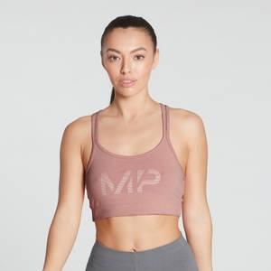 MP Women's Gradient Line Graphic Sports Bra - Washed Pink