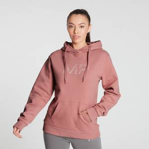 MP Women's Gradient Line Graphic Hoodie - Washed Pink