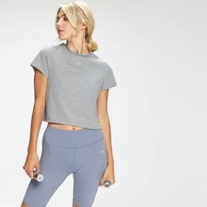 MP Women's Essentials Crop T-Shirt - Grey Marl
