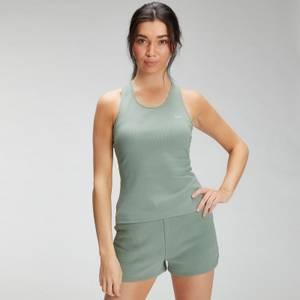 MP Women's Essentials Rib Vest - Pale Green