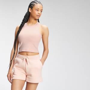 MP Women's Essential Cropped Rib Vest - Light Pink