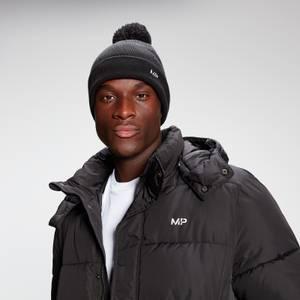 MP Bobble Hat - Black/White