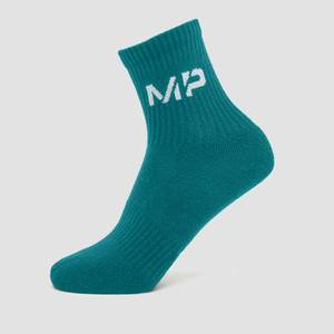 MP Essential Crew Socks Unisex - Teal