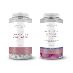 Myvitamins Beauty Bestsellers Bundle (HSN + C&C)