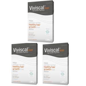 Viviscal Man Hair生长补充剂(3×60)(3个月的分量)