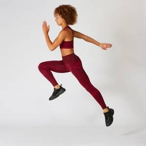 Impact Seamless 无缝系列 女士紧身裤 - Oxblood 酒红