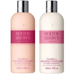 Molton Brown 云莓滋养洗发水和护发素套装 300ml