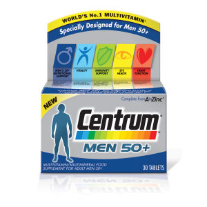 善存 50 岁以上男士复合维生素片 | 30 片