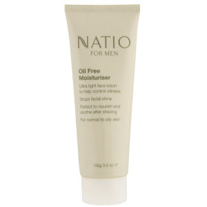 Natio For Men Oil Free Moisturiser (100g)