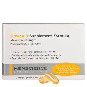 Menscience Omega 3 营养品 60 瓶盖
