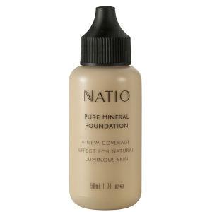 Natio 娜迪奥天然精纯矿物粉底液- 淡色 (50ml)
