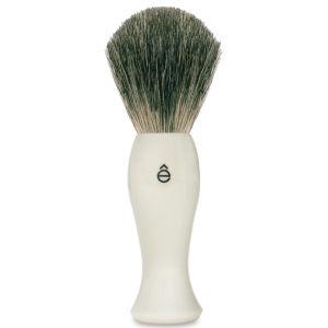 eShave 长款剃须刷塑料手柄(白色)