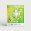 Myvegan Clear Vegan Protein, 16g (Sample) - 16g - 柠檬青柠檬味